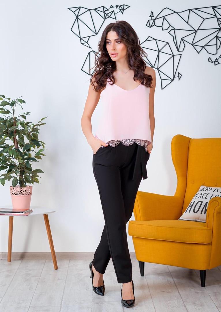 Жіночий костюм штани + футболка, 42-44