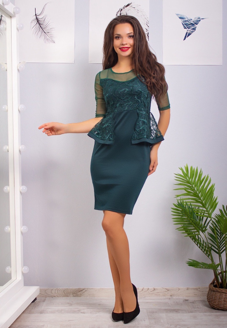 Жіноча ошатна сукня, 42-44
