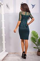 Жіноча ошатна сукня, 42-44, фото 3