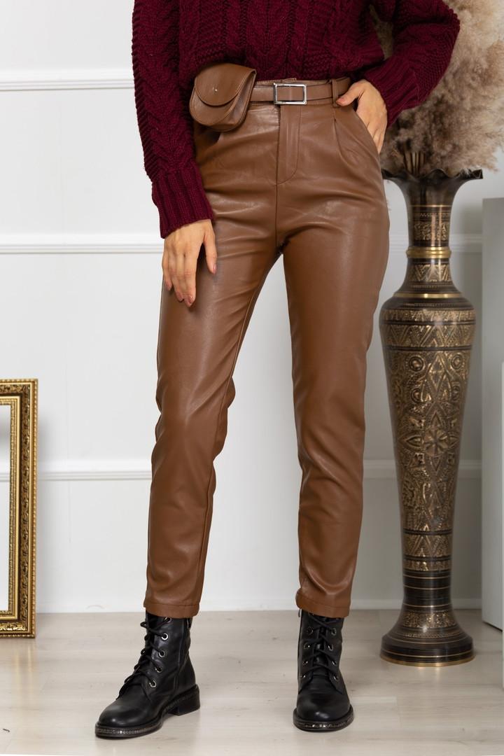 Жіночі шкіряні штани, 40