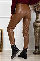 Жіночі шкіряні штани, 40, фото 3