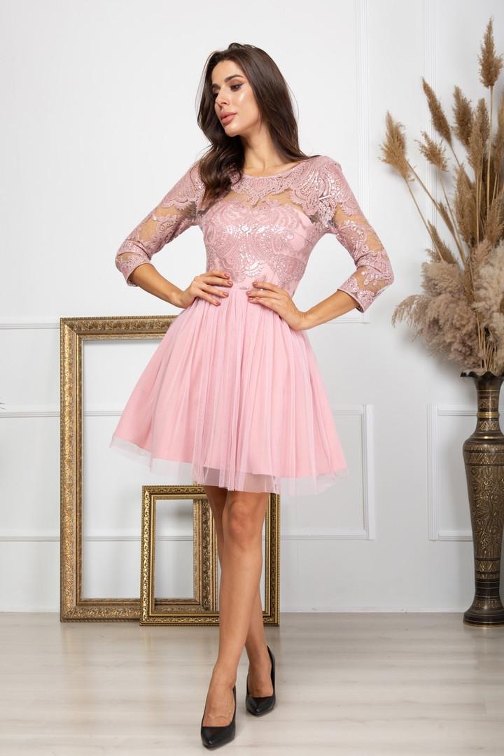 Жіноча пишна вечірня сукня, 42