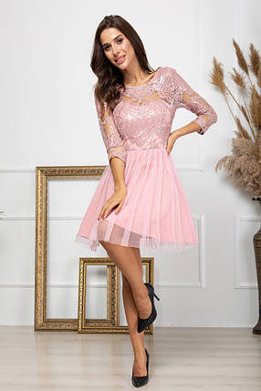 Жіноча пишна вечірня сукня, 42, фото 2