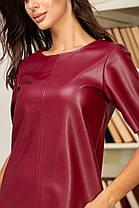 Жіноча шкіряна сукня, 42, фото 2