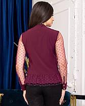 Жіноча сорочка з сіточкою, 42, фото 3