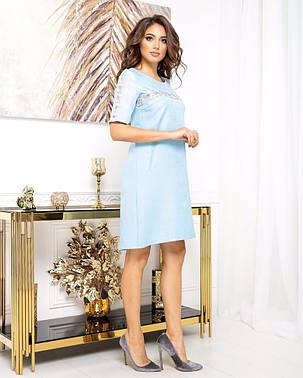 Жіноча сукня з коротким рукавом, 44, фото 2