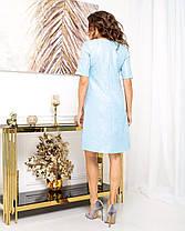 Жіноча сукня з коротким рукавом, 44, фото 3