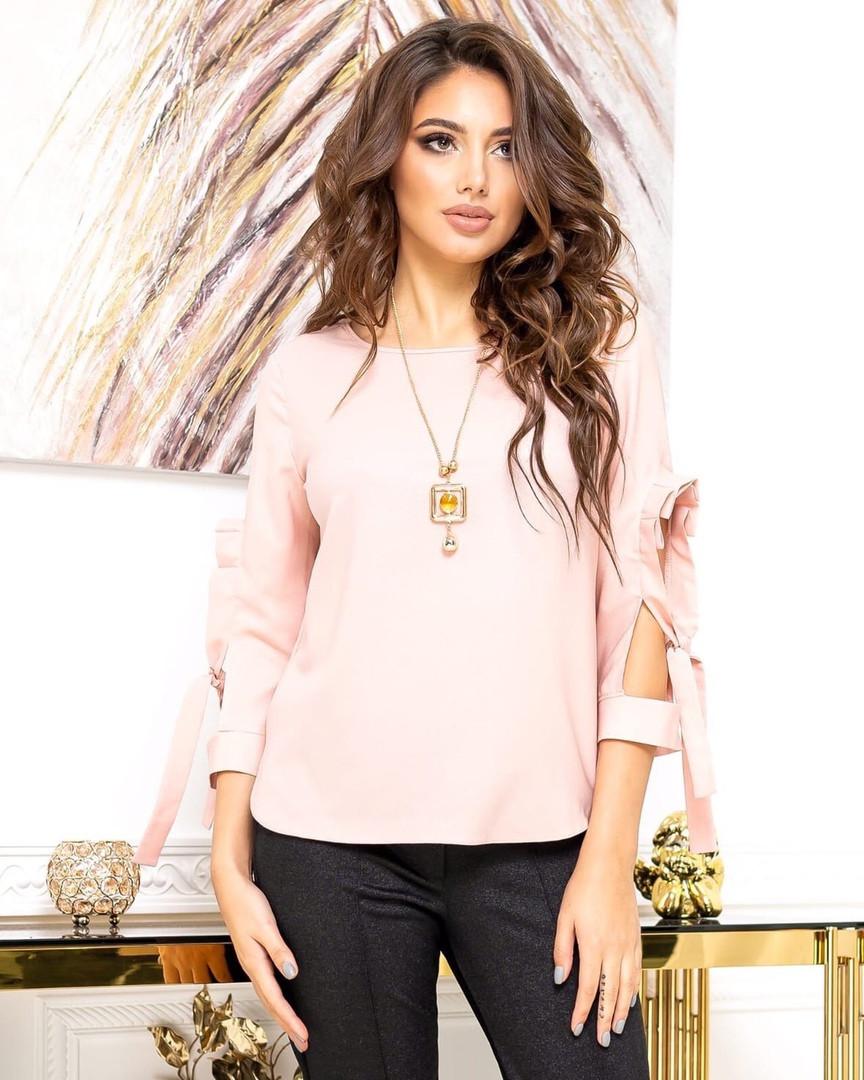 Жіноча рожева блуза, 44