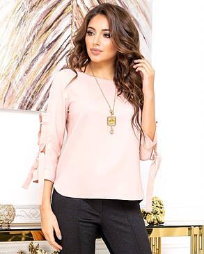 Жіноча рожева блуза, 44, фото 2