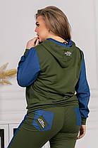 Жіночий спортивний костюм батал, 48-50, фото 3