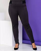 Жіночі чорні лосини, S, фото 3