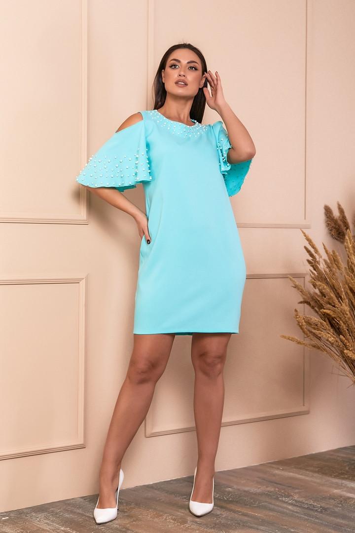Жіноча красива сукня батал, 48