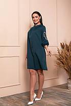 Жіноча вільна сукня батал, 48, фото 2