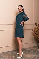 Жіноча вільна сукня батал, 48, фото 3