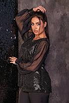 Жіночий святковий костюм батал, 48, фото 2