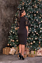 Жіноча вечірня сукня батал, 48, фото 3