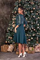Жіноча вільна вечірня сукня батал, 48, фото 2