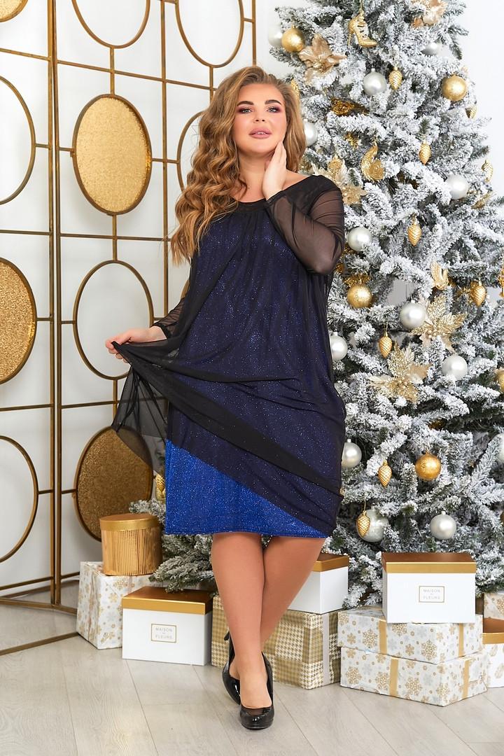 Жіноча вечірня сукня батал, 48-50