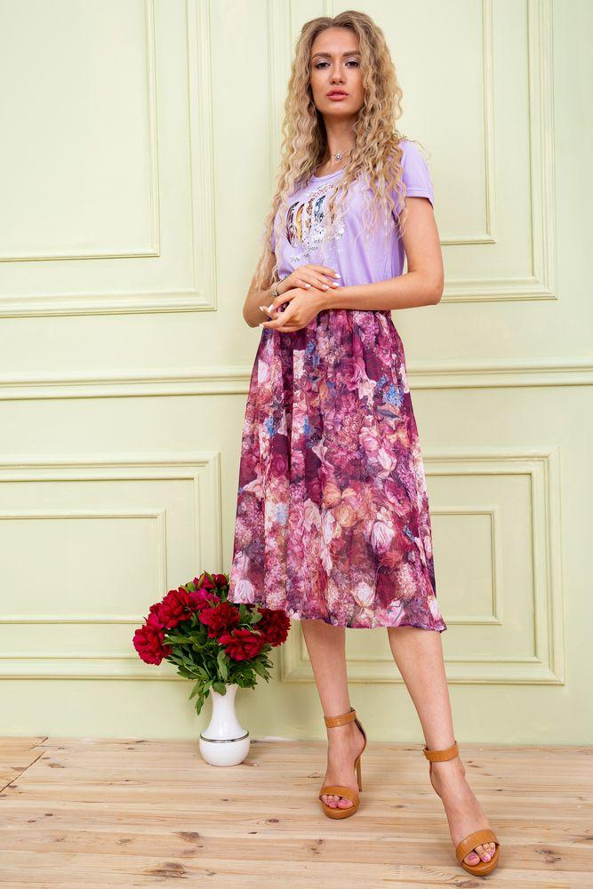 Платье женское 119R0419 цвет Сиреневый