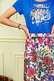 Платье женское 119R0419 цвет Электрик, фото 4