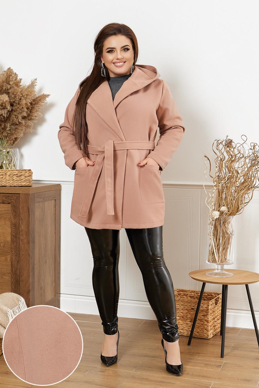 Жіноче коротке пальто батал, 48-50