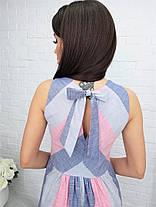 Жіноча літня сукня з льону, 48, фото 3