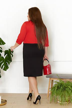 Жіноча облягаюча сукня батал, 50, фото 2