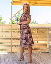 Жіноча літня сукня з принтом, 46, фото 2