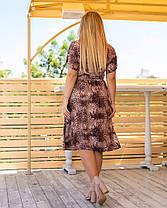 Жіноча літня сукня з принтом, 46, фото 3