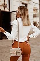 Жіноча біла блуза, 42-44, фото 3