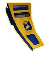 Консоль ВАЗ 2101 - 2102 - 2103 - 2105 - 2106 желто - синяя