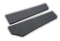 Вставки в двери ВАЗ 2109 - 21099 автовелюр серый (точка)