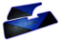 Обшивка багажника 2104 синяя