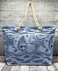 Пляжная сумка с канатными ручками Морская звезда
