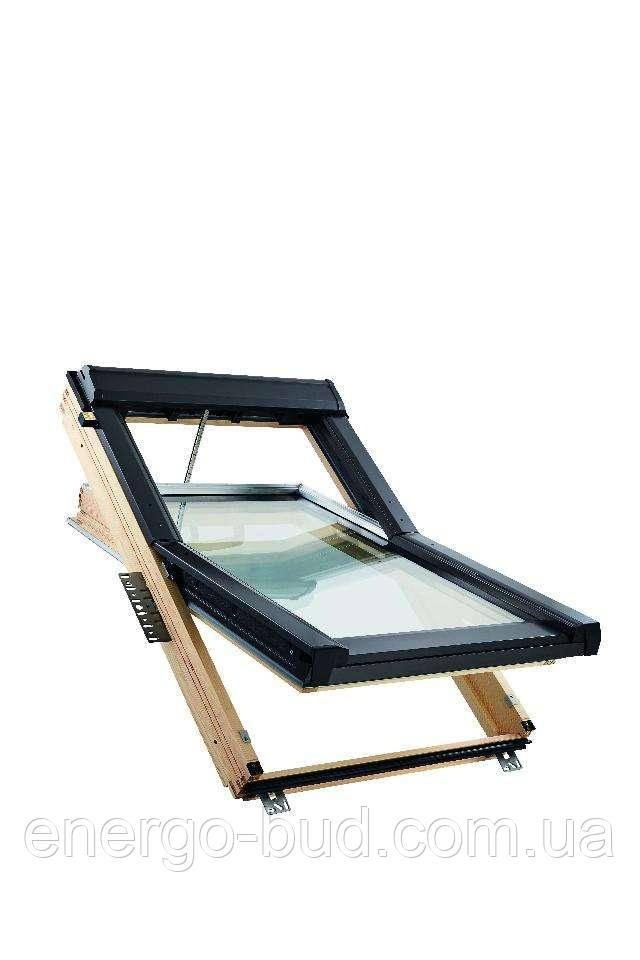 Вікно мансардне Roto QT-4_H3C AL 114/140 SOE