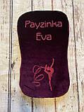 Іменна Подушка для гімнастики 4 см завтовшки, черепашка для гімнастики, для розтяжки, фото 5