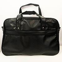 Сумка чоловіча - жіноча / сумка для фітнесу / Дорожня сумка. Модель №1658. Колір чорний