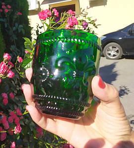 """Набор стаканов 6 шт """"Роял"""" зеленых 250 мл, ТМ0055-G"""