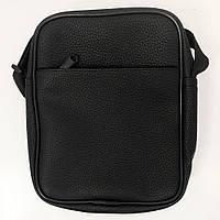 Мессенджер сумка на кожен день. З екошкіри. Модель: 92264 Колір: чорний