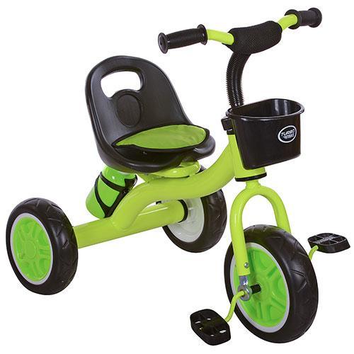 """Дитячий велосипед """"Гномик"""" триколісний Turbotrike (салатовий) арт. 3197-5"""