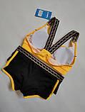 Підлітковий купальник з топиком розмір 32 34 колір м'ята, фото 2