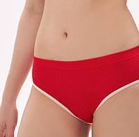 Плавки для купання жіночі, колір червоний, фото 1