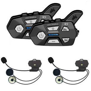 Мотогарнитура Bluetooth на шлем, ПАРА, интерком Wayxin WX-R9