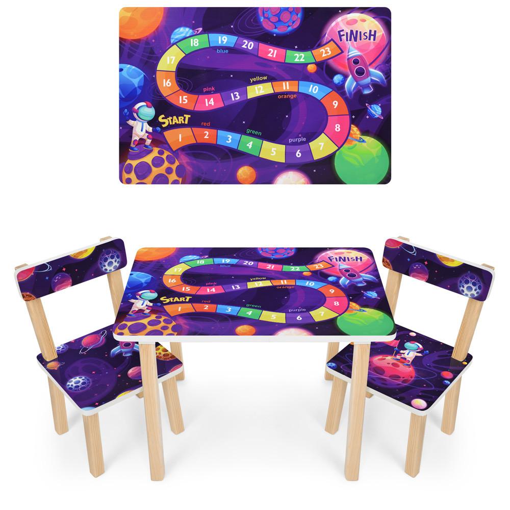 *Набор мебели - столик и 2 стульчика арт. 501-113(EN)