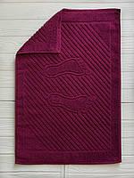 Махровое полотенце для рук бордовый, 50 x 70см, Туркменистан, 700 гр\м2