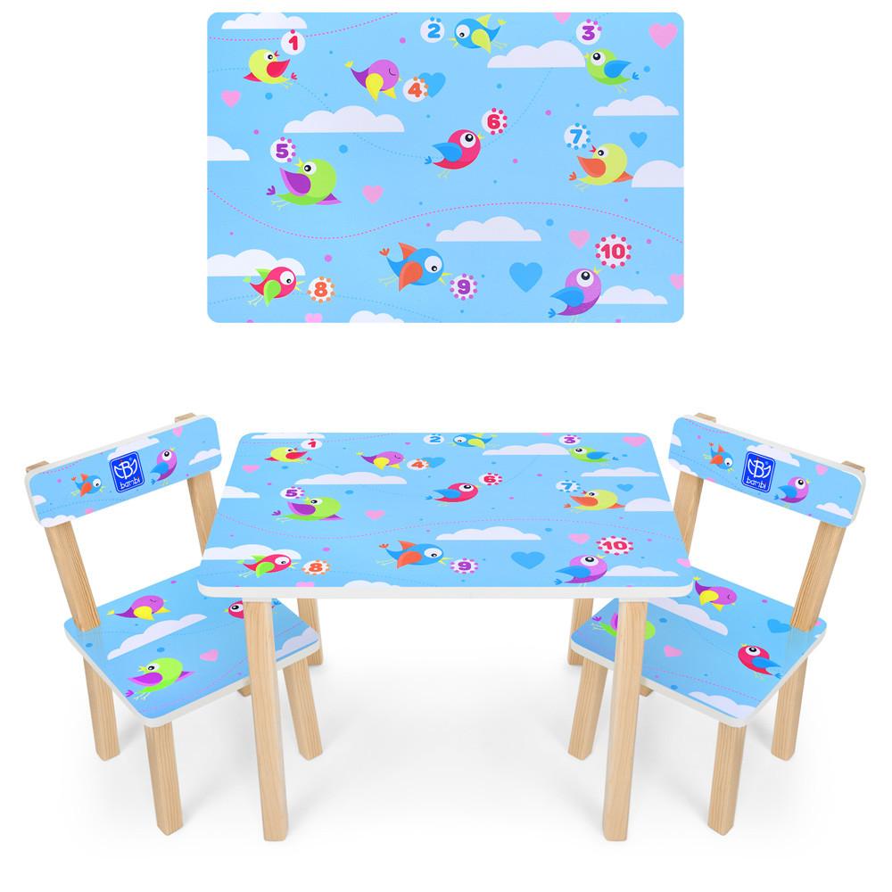 *Набор мебели - столик и 2 стульчика арт. 501-39