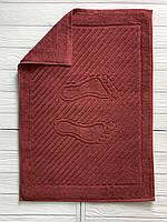 Махровое полотенце для рук паприка, 50 x 70см, Туркменистан, 700 гр\м2