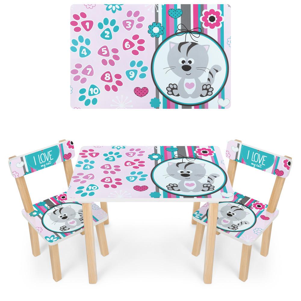 *Набор мебели - столик и 2 стульчика арт. 501-122