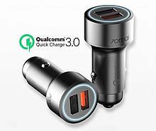 Автомобильное зарядное устройство Xiaomi 70Mai Dual USB Car QC3.0 Charger