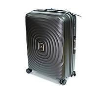 Пластикова валіза Snowball, на 4 колесах, велика, 103 л, чорна, фото 1